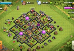 Diseño TH8 Proteger Elixir Oscuro by Felipe Hernandez TH8 Farming base