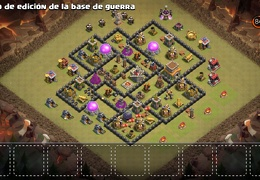 Diseño de Guerra TH8 by Felipe Hernandez War Base TH8