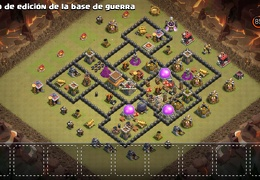Diseño de Guerra Ayuntamiento 8 by Felipe Hernandez TH8 War Base