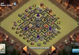 #0040 Diseño de Guerra para Ayuntamiento 9 TH9 War Base by Xavy Heidi