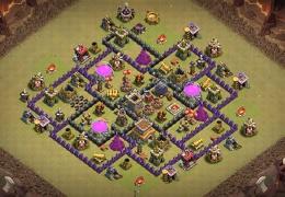 Diseño de Guerra Ayuntamiento 8 by Darkay CR TH8 warbase