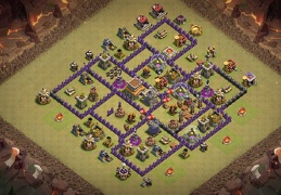 Diseño de Guerra TH7.5 by friskypluto 069 TH8 Intermedio
