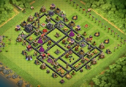 #0184 Aldea Farming Para TH8.5 o TH9 by Gorilu Gamer