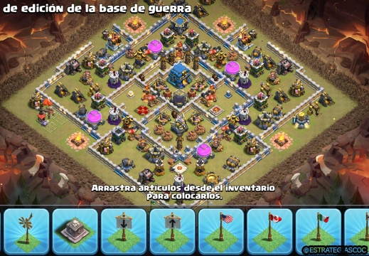 Etiqueta th12 | Diseños de Aldeas Clash of Clans Base Layouts