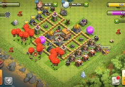 #0394 Diseño Farming en Ayuntamiento 5, Base Layout for TH5