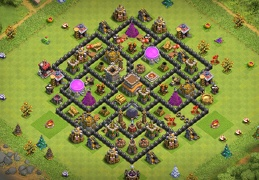Diseño Farming Ayuntamiento 8, TH8 Base Layout