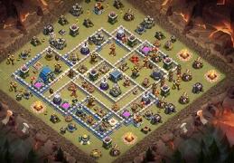 #0413 Diseño de Guerra Ayuntamiento 12, War Base Layout TH12