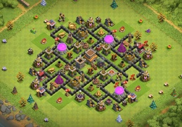 Farming Ayuntamiento 8, Base Layout for TH8