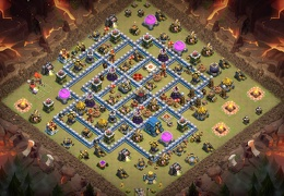 Guerra Ayuntamiento 12, TH12 War Base Layout