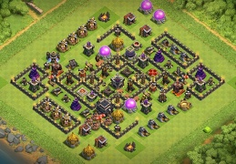 Subida de Copas Ayuntamiento 9, Pushing Trophies TH9