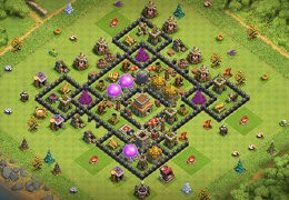Farming Base Layout TH8, Diseño Para Ayuntamiento 8