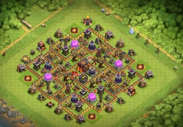 Protect Dark Elixir TH10, Pushing Trophies, Proteger Elixir Oscuro y Copas en Ayuntamiento 10