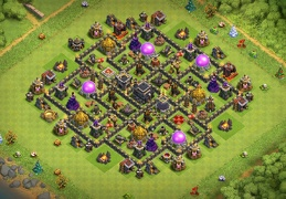 Farming Base Layout TH9, Diseño Clasico Ayuntamiento 9