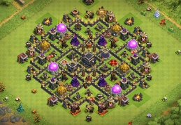 Farming Base Layout TH9, Separated Storages, Ayuntamiento 9 Diseño