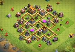 Farming Base Layout TH5, Diseño Ayuntamiento 5