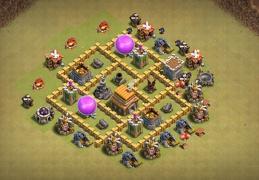 #0680 War Base Layout TH5, Diseño Guerra Ayuntamiento 5