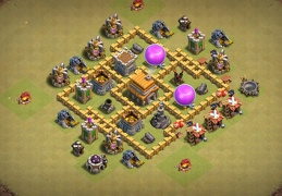 War TH5 Base Layout, Diseño de Guerra Ayuntamiento 5
