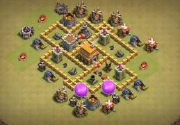 Hybrid Base Layout TH5, Subida de Copas y Guerra Ayuntamiento 5