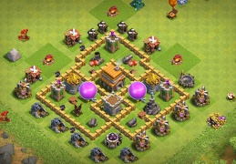 Farming Protect Gold and Elixir TH5, Proteger Oro y Elixir Ayuntamiento 5