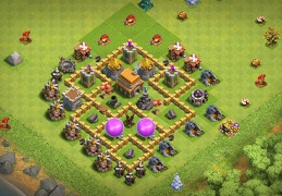 #0689 Farming Protect Gold and Elixir TH5, Diseño Ayuntamiento 5