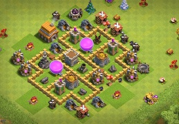 Protect Gold and Elixir Storage TH5, Proteger Recursos Ayuntamiento 5
