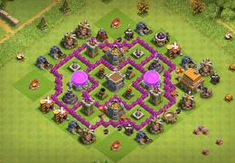 #0709 Farming Base Layout TH6, Diseño Farming Ayuntamiento 6