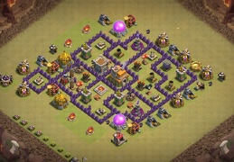 War Base Layout for TH12, Guerra Ayuntamiento 7