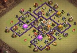 War Base for TH7, Diseño Guerra Ayuntamiento 7