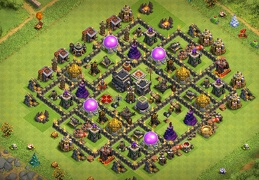 Farming and Pushing Trophies TH9, Subid de Copas y Farming