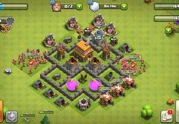 #0860 Farming Base Layout TH4, Ayuntamiento 4 Farming Diseño