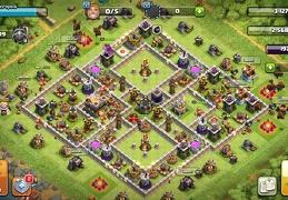 #0918 Farm Base Layout TH11, Proteger Elixir Oscuro Ayuntamiento 11