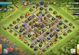 #0919 Trophy Base layout TH11, Farming y Subida de Copas Ayuntamiento 11