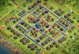 #0931 Trophy and War Base Layout TH12, Subida de Copas y Guerra Ayuntamiento 12