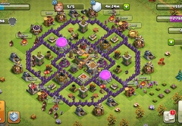 #1002 Farming Base Layout TH7, Diseño Farming Ayuntamiento 7