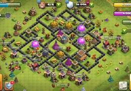 Protect Gold and Elixir Base Layout TH8, Proteger Oro y Elixir