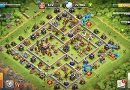 #1108 Trophy and War Base Layout TH11, Subida de Copas y Guerra Ayuntamiento 11