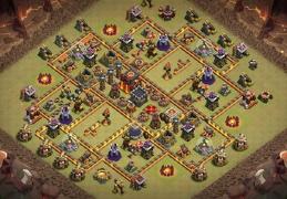 Trophy & War Base Layout TH10, Subida de Copas y Guerra