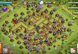 War Base Layout for TH10, Diseño de Guerra Ayuntamiento 10