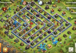 Trophy Base Layout TH12, Subida de Copas Ayuntamiento 12