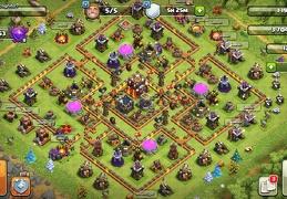 Trophy and War Base Layout TH10, Subida de Copas y Guerra