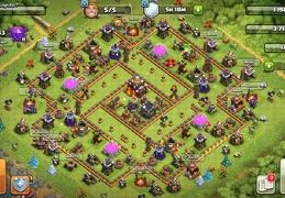 Hybrid Trophy and War Base TH10, Subida de Copas y Guerra Ayuntamiento 10