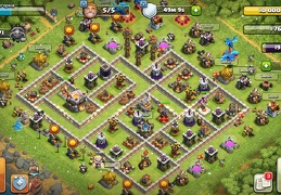 #1160 Trophy Base Layout for TH11, Subida de Copas y Guerra