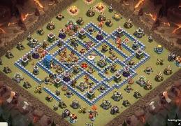 #1183 PRO War Base for TH12, Diseño PRO Guerra Ayuntamiento 12