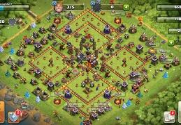 Trophy and War Base Layout TH10, Subida de Copas y Guerra TH10