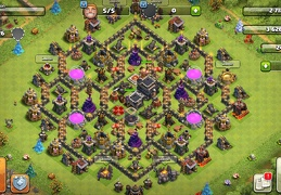 #1299 Farming Base Layout TH9, Diseño Proteger Recursos Ayuntamiento 9