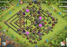 #1327 Protect Dark Elixir Farming Base for TH9, Proteger Elixir Oscuro Ayuntamiento 9