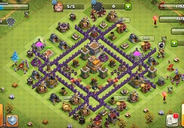 #1425 War and Trophy Base Layout for TH7, Subida de Copas y Guerra