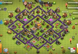 #1426 War and Trophy Base Layout TH7, Subida de Copas y Guerra