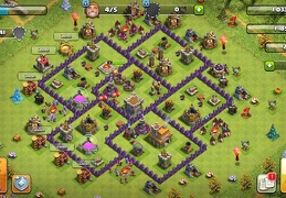 #1431 War Base Layout TH7, Diseño Guerra Ayuntamiento 7