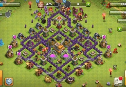 #1432 Farming Base Layout TH7, Diseño Proteger Recursos Ayuntamiento 7